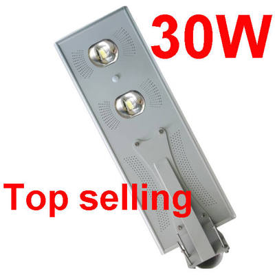 30W COB solar street light