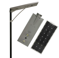 COB integrated solar street light